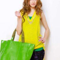 Colorful Tote Handbags for rainy season