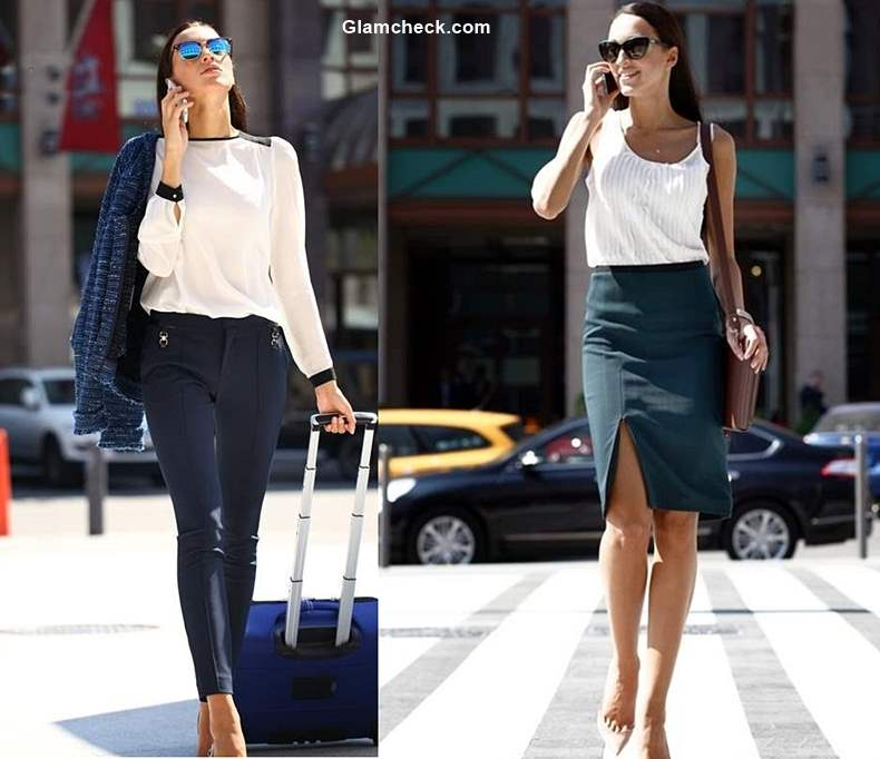 How to wear Black & White for Work