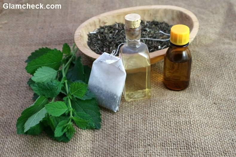Beauty Benefits Used Green Tea Bags
