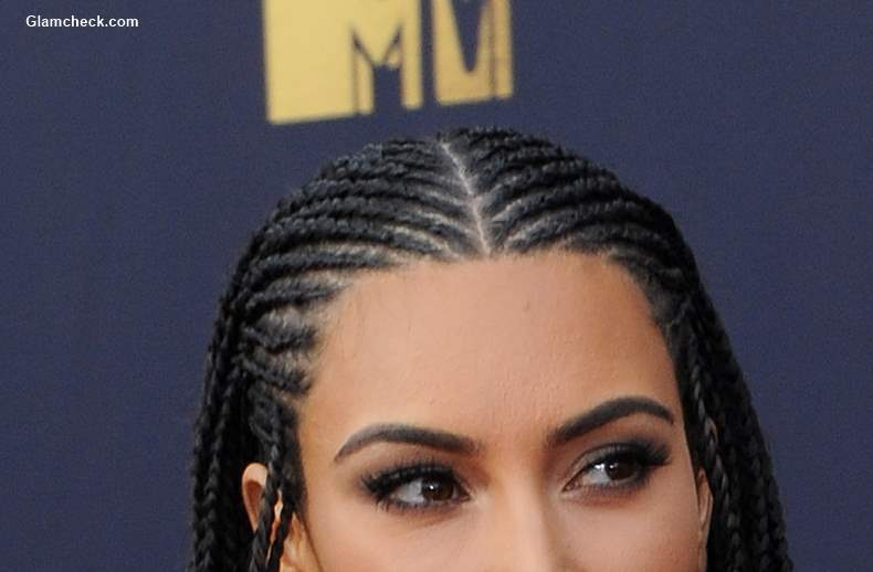 Cornrow braids