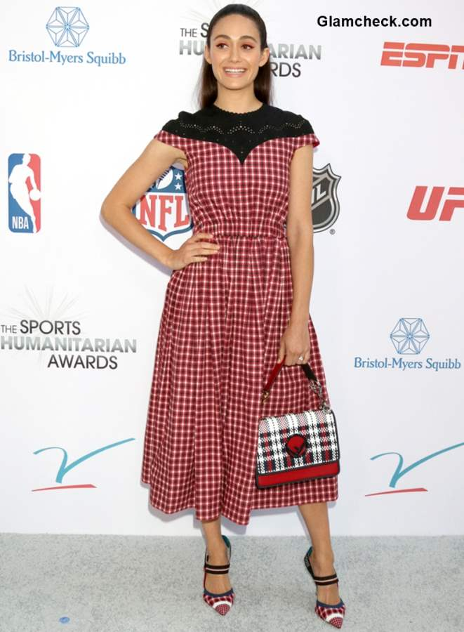 Emmy Rossum 2018 Annual Sports Humanitarian awards