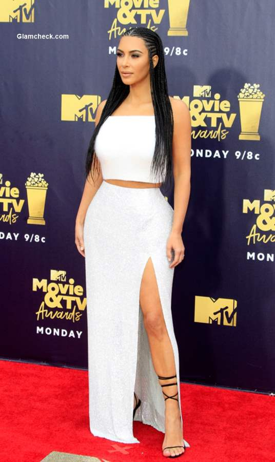 Kim Kardashian 2018 MTV Movie And TV Awards