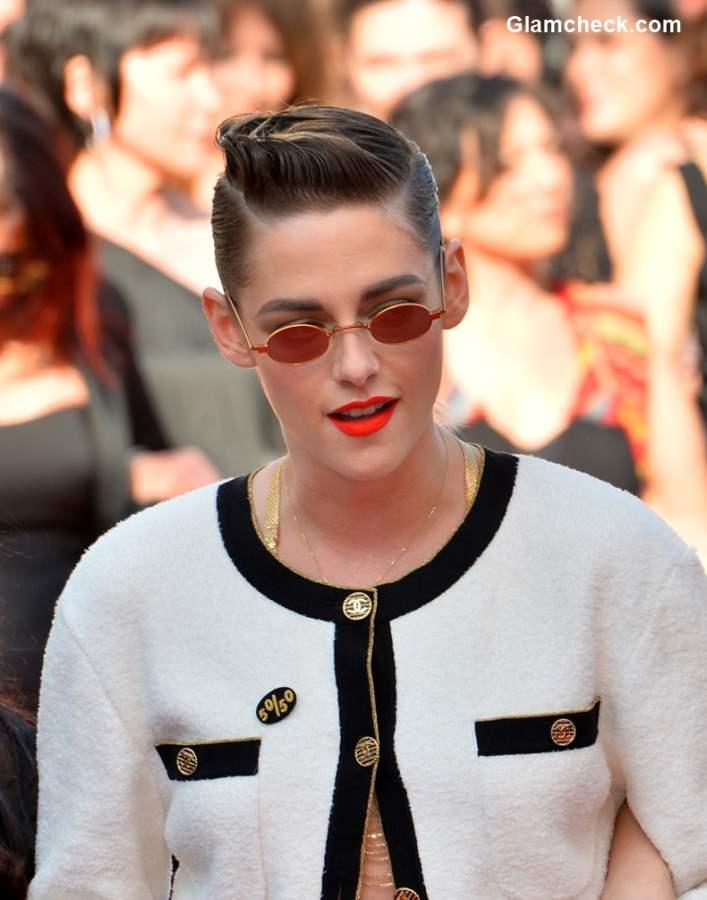 Mullet Haircut Styles Edgy Quiff - Kristen Stewart 2018