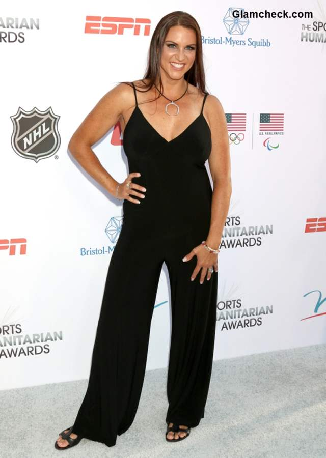 Stephanie McMahon at The Fourth Annual Sports Humanitarian Awards 2018