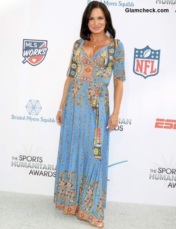 Tia Texada at The Fourth Annual Sports Humanitarian Awards 2018