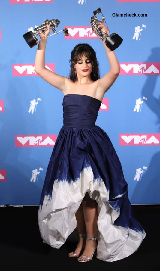 Camila Cabello at MTV Video Music Awards 2018