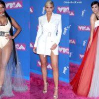 Celeb Red Carpet looks at MTV Video Music Awards 2018