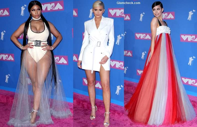 Celeb Red Carpet looks at MTV Video Music Awards 2018