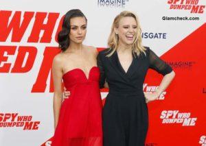 "Celeb Black Carpet Looks at ""The Spy Who Dumped Me"" LA Premier"