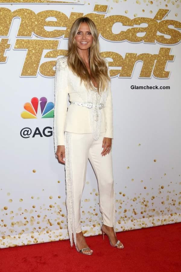 Heidi Klum in Zuhair Murad Haute Couture