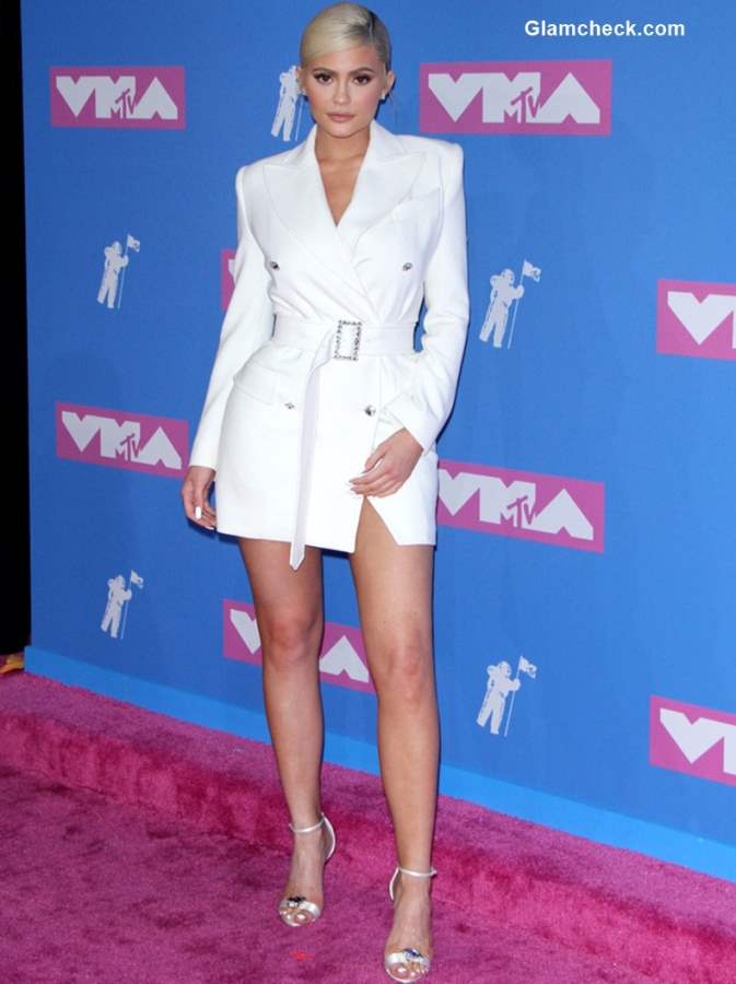 Kylie Jenner in Tom Ford at MTV Video Music Awards 2018