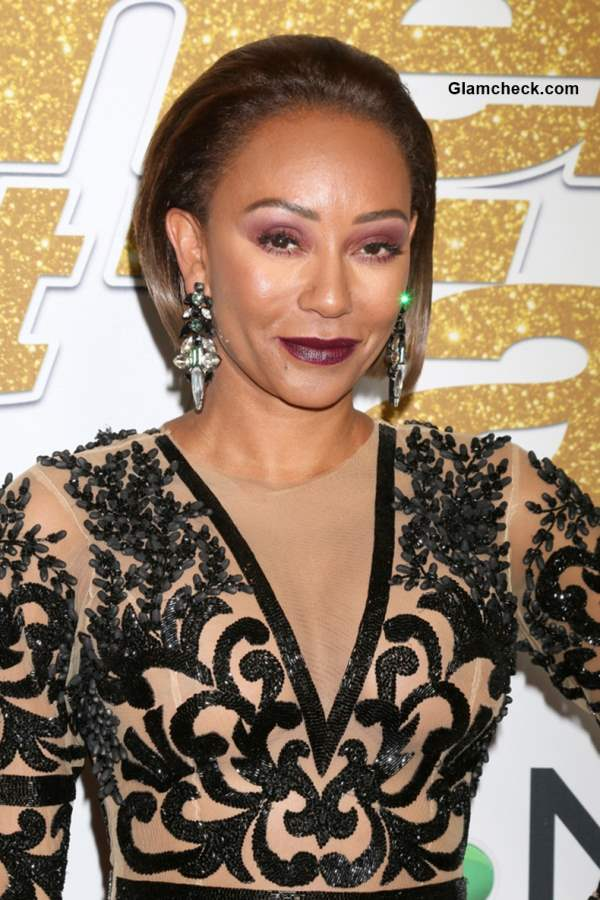 Mel B 2018 at Americas Got Talent Red Carpet