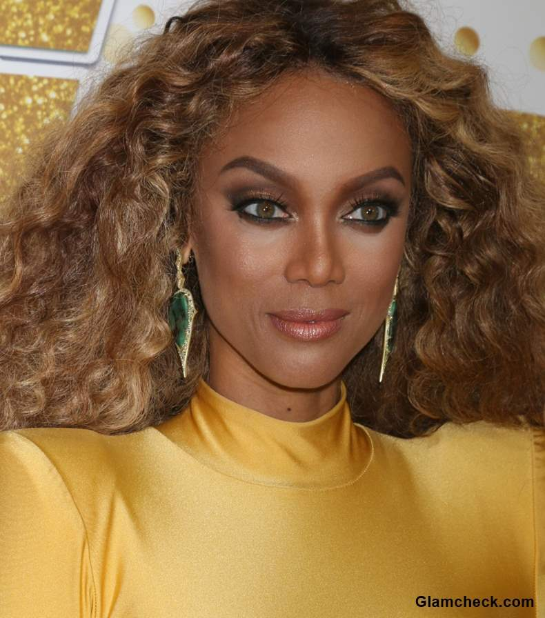 Tyra Banks Curly Hair 2018 Americas Got Talent