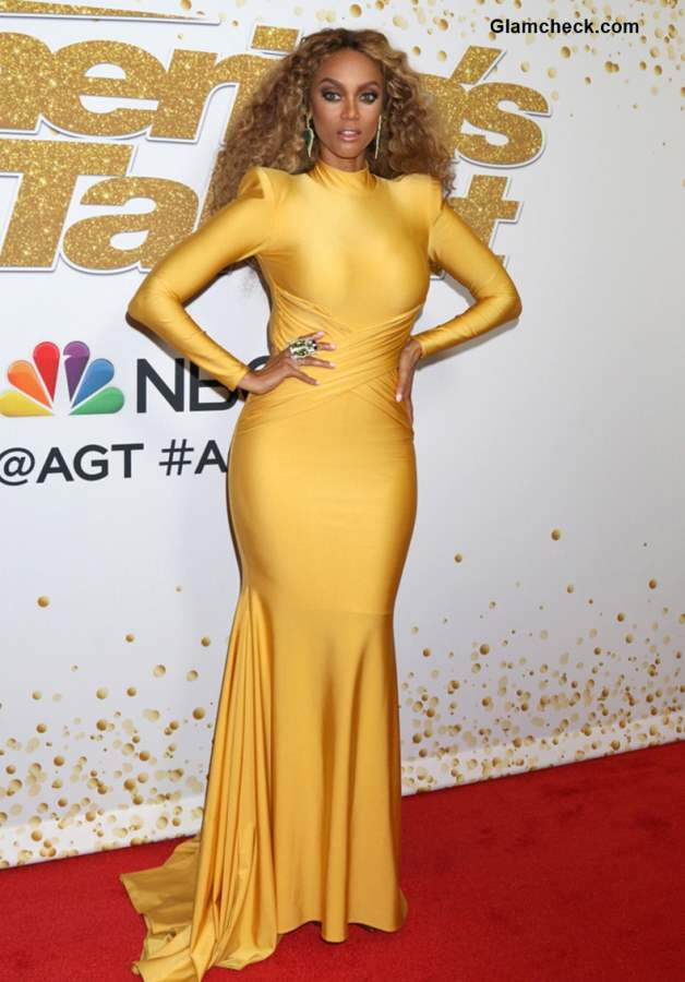 Tyra Banks Hosts Americas Got Talent 2018