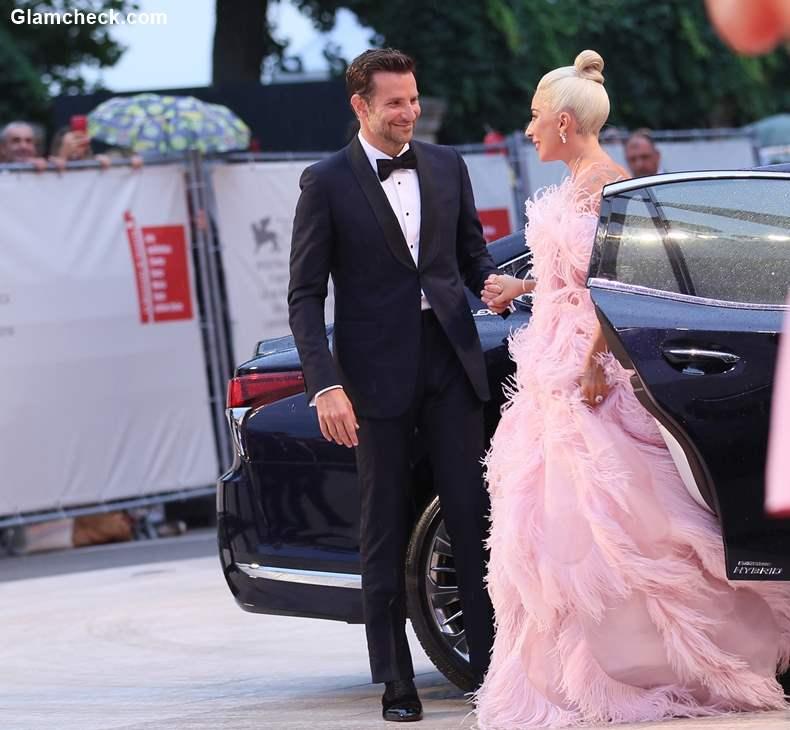 Bradley Cooper with Lady Gaga Venice Film Festival 2018