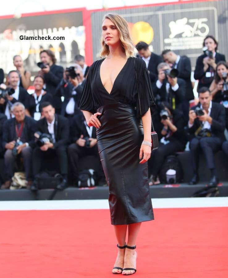 Gaia Weiss 2018 Venice Film Festival