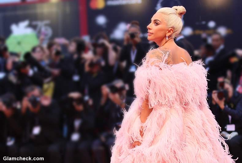 Lady Gaga Channels Fairytale Look In Valentino Dress At