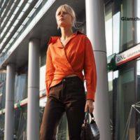 Street Style at Milan Fashion Week FallWinter 2018-19 Alberta Ferretti Show