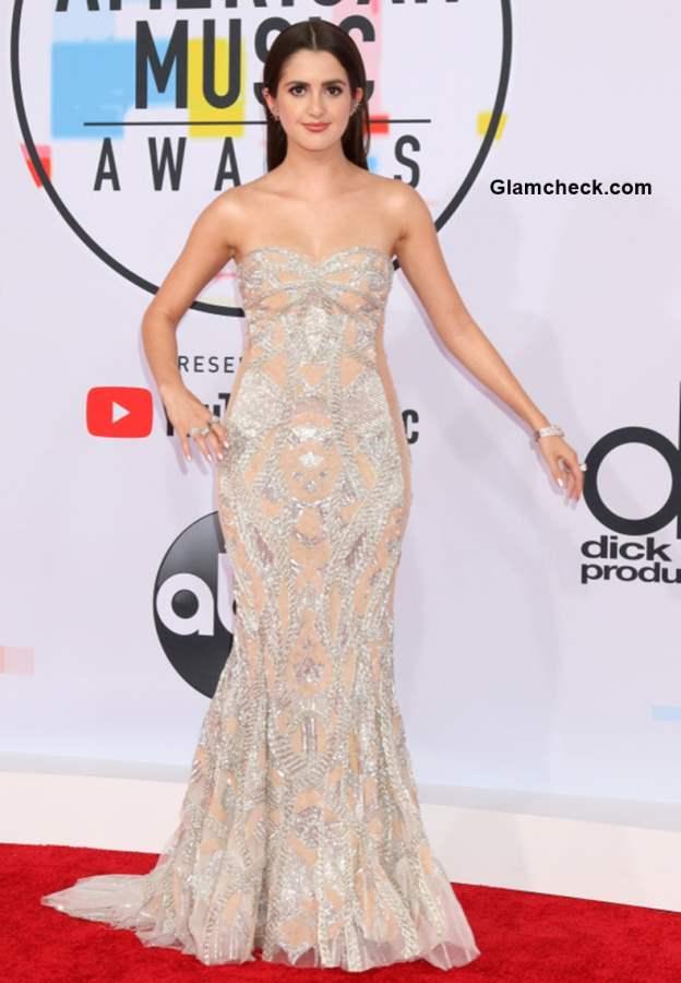 Laura Marano in Galia Lahav at 2018 American Music Awards