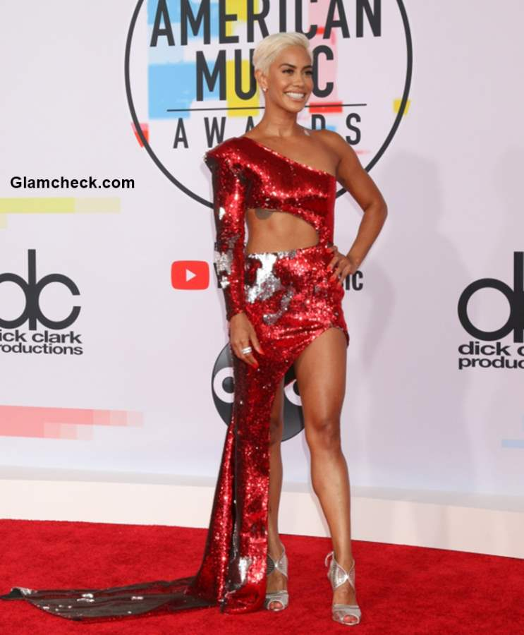 Sibley Scoles at 2018 American Music Awards