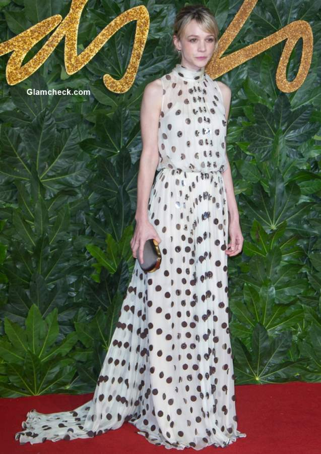 Carey Mulligan The British Fashion Awards 2018