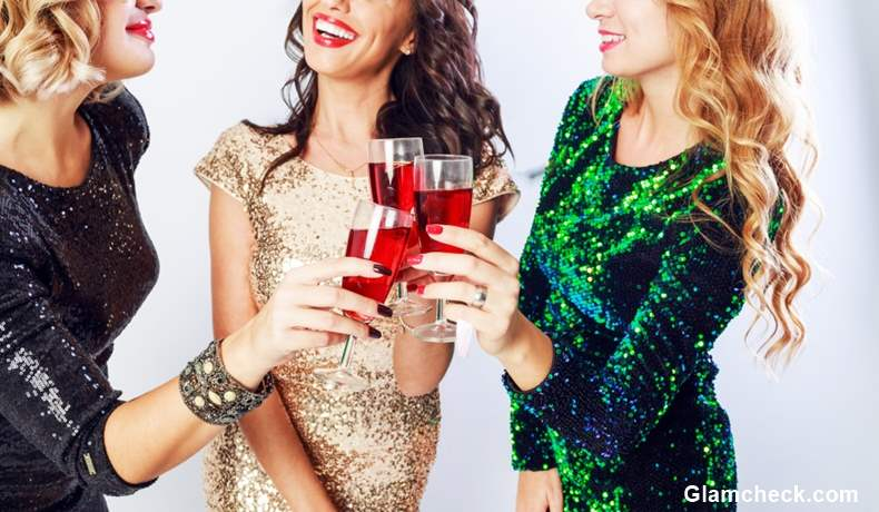Christmas party dresses sequins