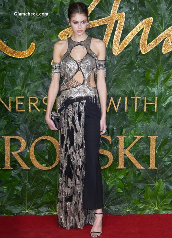 Kaia Gerber The British Fashion Awards 2018