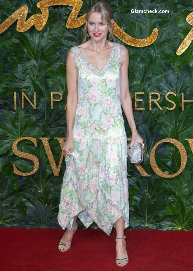Naomi Watts The British Fashion Awards 2018