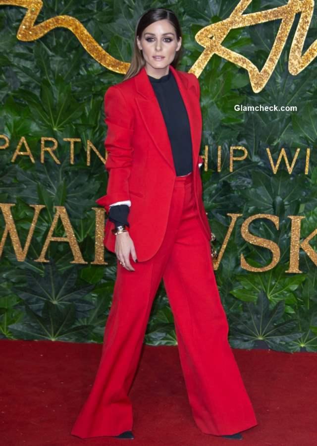 Olivia Palermo The British Fashion Awards 2018