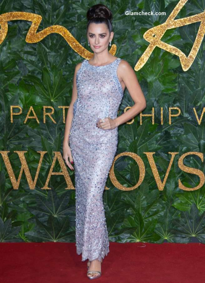 Penélope Cruz The British Fashion Awards 2018