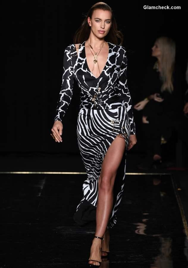Versace Pre-Fall 2019 Collection Irina Shayk