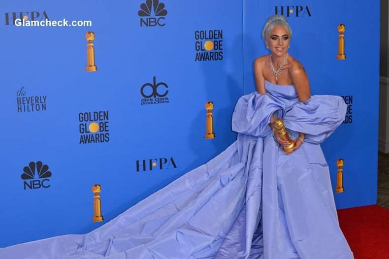 Lady Gaga 2019 Golden Globe Awards