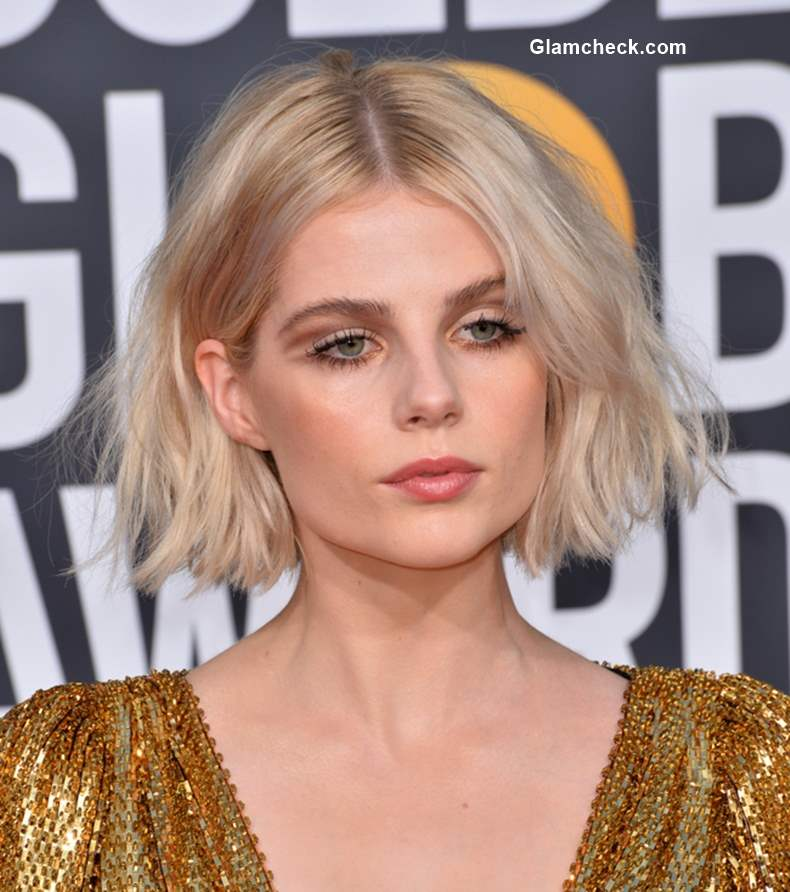 Lucy Boynton 2019 Golden Globe Awards