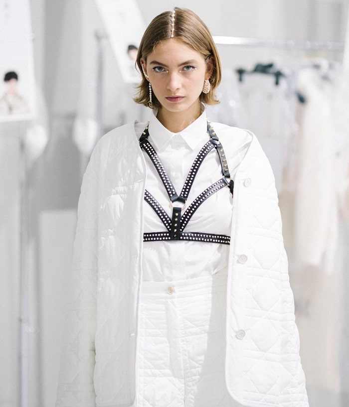 Dior Cruise 2022 Hair and Makeup Trends
