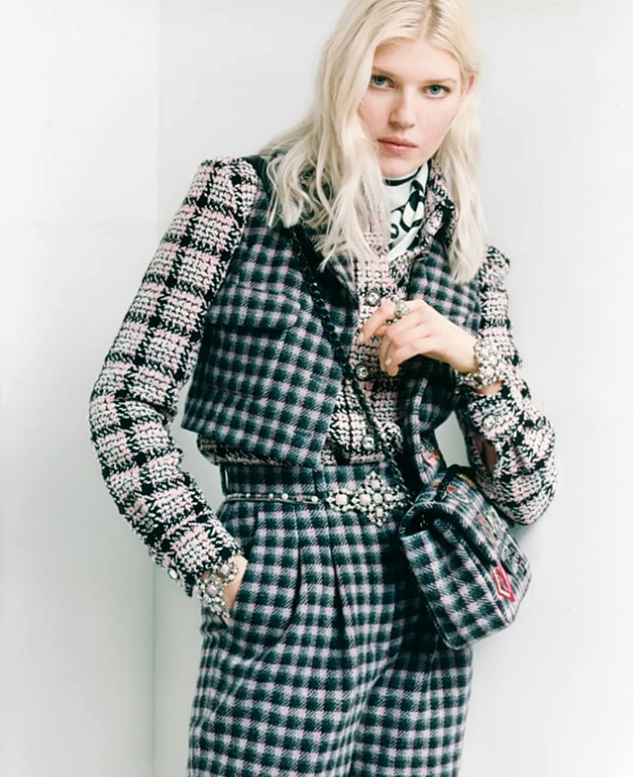 Ola Rudnicka face of CHANEL Fall-Winter 2021-22 pre-collection