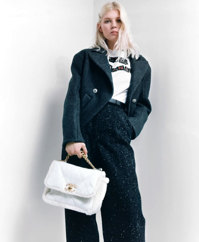 Ola Rudnicka face of Chanel Fall-Winter 2021-22 pre collection
