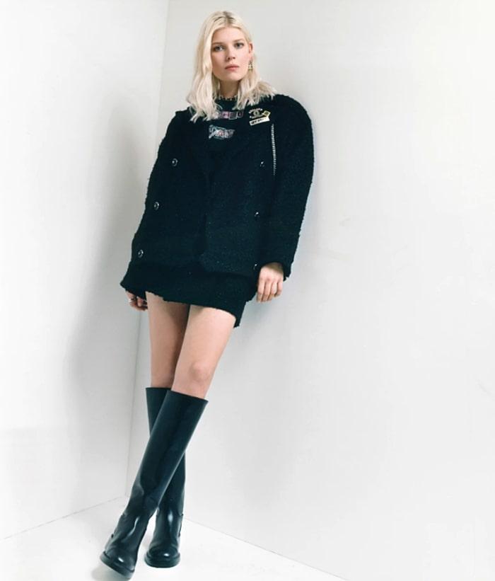 Ola Rudnicka face of Chanel Fall-Winter 2021-22