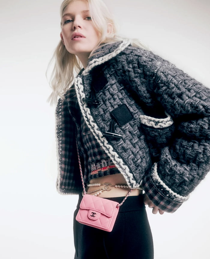Ola Rudnicka face of the CHANEL Fall-Winter 2021-22 pre-collection