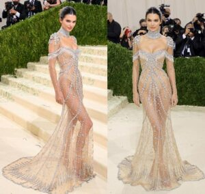 MET Gala 2021 Red Carpet Looks Kendall Jenner in Givenchy