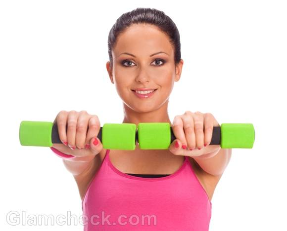 women weight lifting workouts