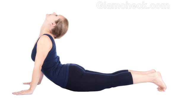 Suryanamaskar Bhujangasana headache treatment