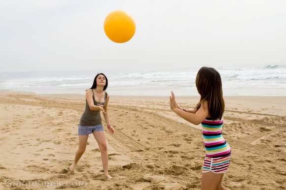 Beach workouts beach volleyball