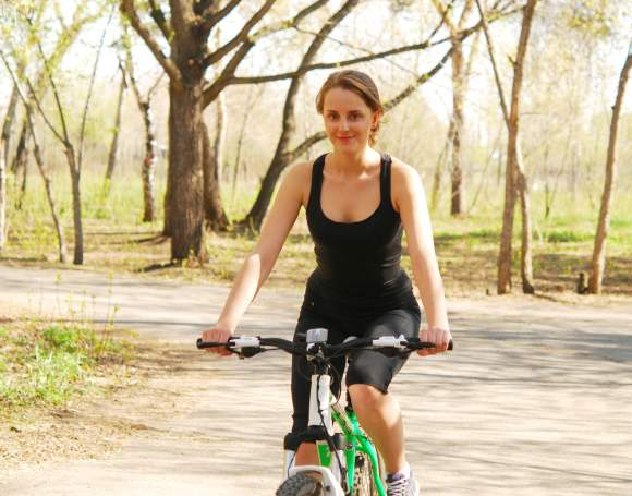 Summer workouts biking cycling
