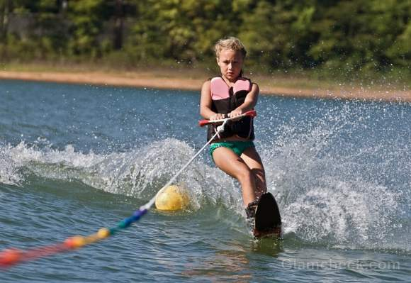 beach workouts Water Skiing