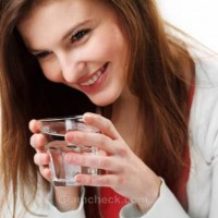 Skin benefits drinking water