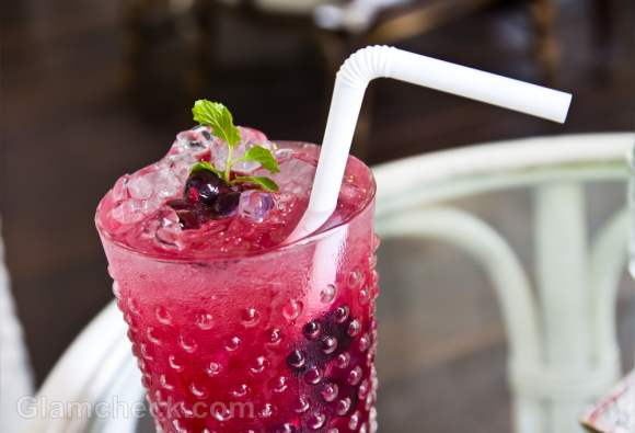 Fruit Soda summer drinks