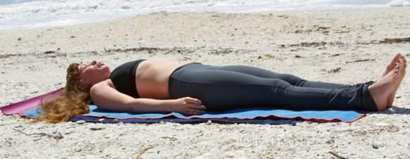 Yoga periods shavasana