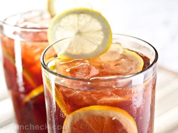 iced tea summer drink