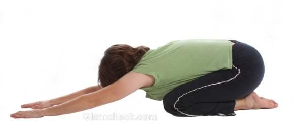 periods yoga visasana