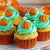 Pumpkin Cupcakes for Thanksgiving